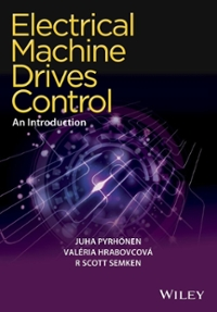 Electrical Machine Drives Control 1st Edition 9781119260455 1119260450