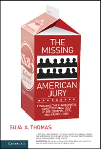 The Missing American Jury 1st Edition 9781316667132 1316667138