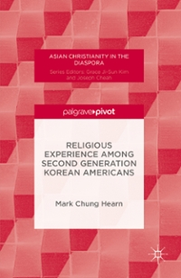 Religious Experience Among Second Generation Korean Americans 1st Edition 9781137594136 1137594136