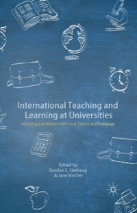 International Teaching and Learning at Universities 1st Edition 9781137475145 1137475145