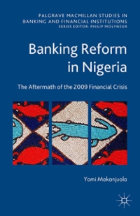 Banking Reform in Nigeria 1st Edition 9781137493538 1137493534
