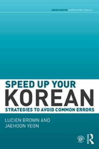 Speed up your Korean 1st Edition 9781317270515 1317270517