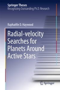 Radial-velocity Searches for Planets Around Active Stars 1st Edition 9783319412733 3319412736