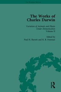 The Works of Charles Darwin: Vol 20: The Variation of Animals and Plants under Domestication (Second Edition, 1875, Vol II) 1st Edition 9781315476841 1315476843