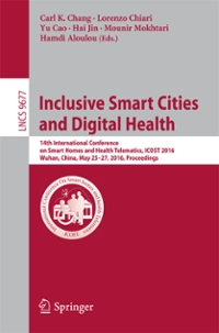 Inclusive Smart Cities and  Digital Health 1st Edition 9783319396019 3319396013