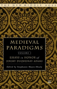 Medieval Paradigms: Volume I 1st Edition 9781137107183 1137107189