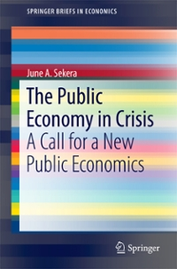 The Public Economy in Crisis 1st Edition 9783319404875 3319404873