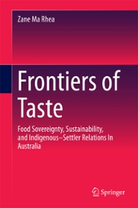 Frontiers of Taste 1st Edition 9789811016301 9811016305