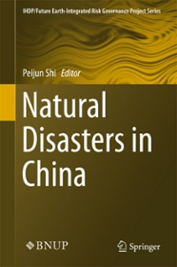 Natural Disasters in China 1st Edition 9783662502709 3662502704