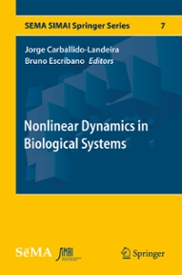 Nonlinear Dynamics in Biological Systems 1st Edition 9783319330549 3319330543