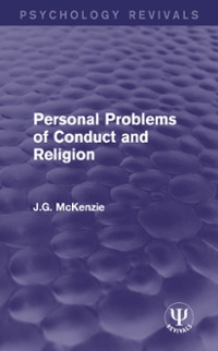Personal Problems of Conduct and Religion 1st Edition 9781317189695 1317189698