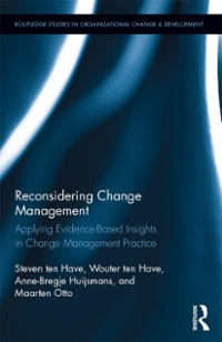 Reconsidering Change Management 1st Edition 9781317293743 1317293746