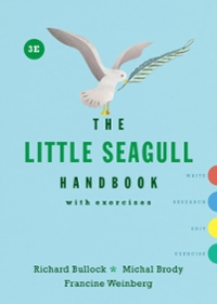The Little Seagull Handbook with Exercises 3rd Edition 9780393602647 0393602648