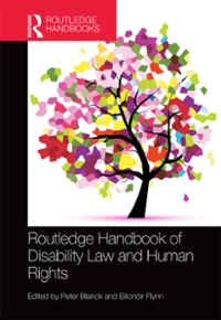 Routledge Handbook of Disability Law and Human Rights 1st Edition 9781317043690 1317043693