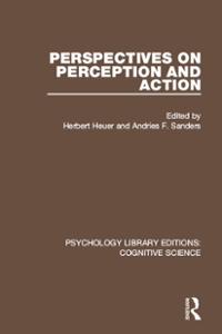 Perspectives on Perception and Action 1st Edition 9781317239703 1317239709