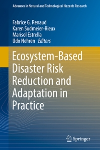Ecosystem-Based Disaster Risk Reduction and Adaptation in Practice 1st Edition 9783319436333 3319436333