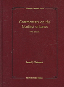 Commentary on the Conflict of Laws 5th edition 9781599410722 1599410729