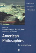 American Philosophies 1st edition 9780631210023 0631210024