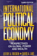 International Political Economy 3rd edition 9780312084189 0312084188