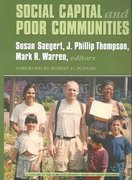 Social Capital and Poor Communities 0 9780871547347 0871547341