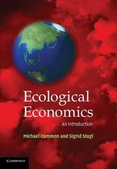 Ecological Economics 1st Edition 9780521016704 0521016703