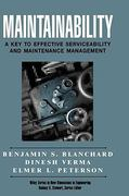 Maintainability 1st edition 9780471591320 0471591327