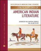 Encyclopedia of American Indian Literature 1st edition 9780816056569 0816056560