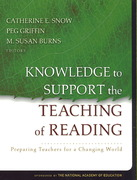 Knowledge to Support the Teaching of Reading 1st edition 9780787996338 0787996335