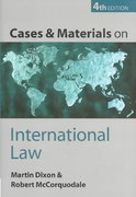 Cases and Materials on International Law 4th edition 9780199259991 0199259992