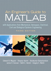 An Engineer's Guide to MATLAB 3rd Edition 9780133002614 0133002616