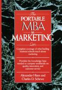 The Portable MBA in Marketing 1st edition 9780471547280 047154728X