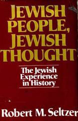 Jewish people, Jewish Thought 0 9780024089502 0024089508