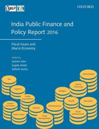India Public Finance and Policy Report 2016 1st Edition 9780199472055 019947205X
