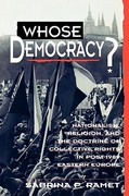Whose Democracy? 0 9780847683246 0847683249