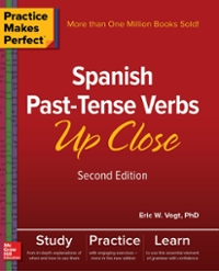 Textbook rental spanish online textbooks from chegg practice makes perfect spanish past tense verbs up close second edition 2nd edition fandeluxe Choice Image