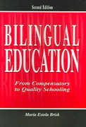 Bilingual Education 2nd Edition 9781410615664 1410615669