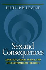 Sex and Consequences 0 9780691130453 0691130450