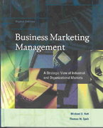 Business Marketing Management 8th edition 9780324190434 0324190433