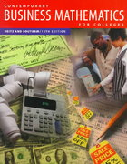 Contemporary Business Mathematics for Colleges 12th edition 9780538868822 0538868821