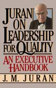 Juran on Leadership For Quality 0 9780743255776 0743255771