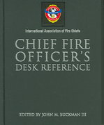 Chief Fire Officer's Desk Reference 1st edition 9780763729356 0763729353