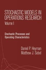 Stochastic Models in Operations Research 0 9780486432595 0486432599