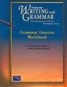 Writiing and Grammar 1st Edition 9780130434753 0130434752