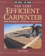 The Very Efficient Carpenter 1st Edition 9781561583263 156158326X