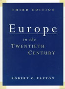 Europe in the 20th Century 3rd edition 9780155037793 015503779X