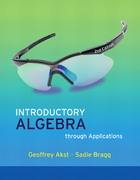 Introductory Algebra through Applications 2nd edition 9780321518026 0321518020