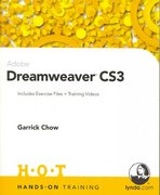 Adobe Dreamweaver CS3 Hands-On Training 1st edition 9780321509857 0321509854