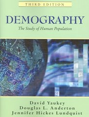 Demography 3rd Edition 9781577664888 1577664884