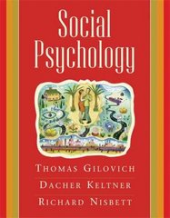 Social Psychology 1st Edition 9780393978759 0393978753