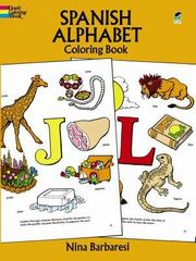 Spanish Alphabet Coloring Book 0 9780486272498 0486272494